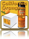 California Orange Odor Bombs CASE (12 CANS)