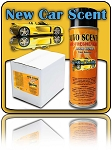 New Car Scent Odor Bomb CASE (12 CANS)