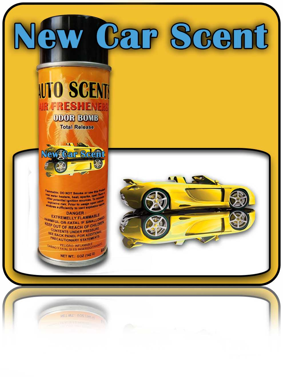 New Car Scent Odor Bombs