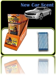 New Car Scent 1 pack in retail display box 36 count