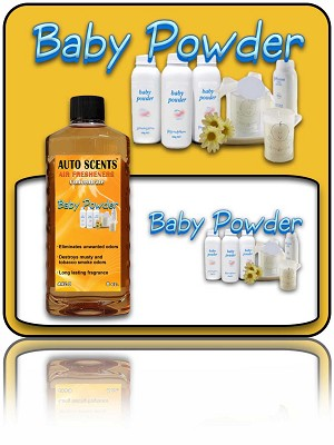 Baby Powder Air Freshener Concentrate 8 oz.