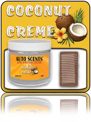 Coconut Creme Air Freshener 20-Count