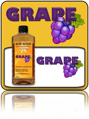 Grape Air Freshener Concentrate 8 oz.