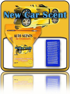 New Car Scent 60 Count