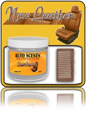 New Leather Air Freshener 20-Count